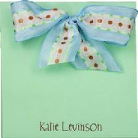Mint Chocolate Chip Bow Block